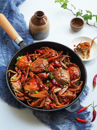 焖香辣蟹的做法