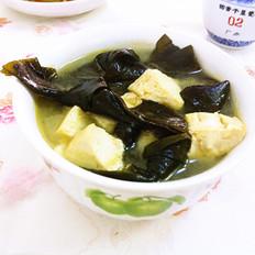 海带结豆腐汤