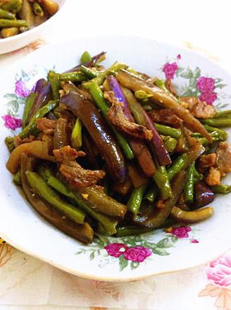 美食 豇豆/茄子豇豆炒肉...