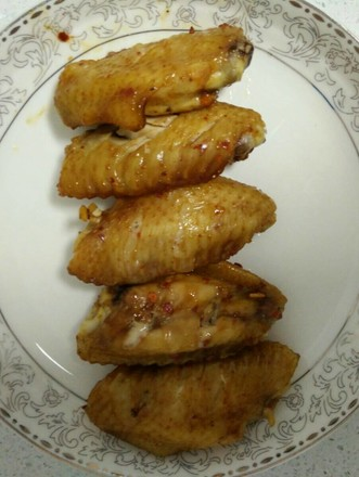 微波烤鸡翅的做法