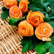 苹果玫瑰卷