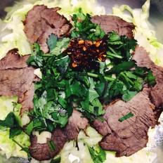 头菜拌牛肉