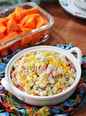 微波炉快手土豆沙拉的做法