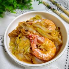 鲜虾烧白菜