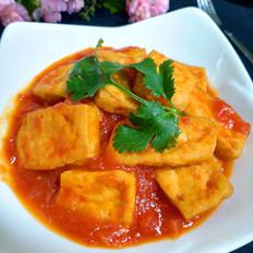 茄汁煎豆腐