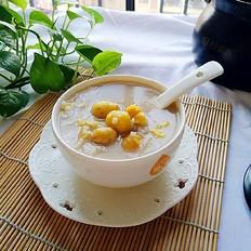 砂锅版板栗排骨粥