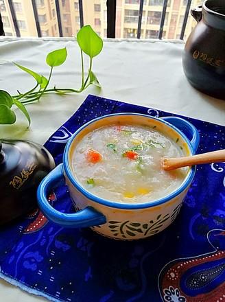 土豆胡萝卜玉米粥的做法