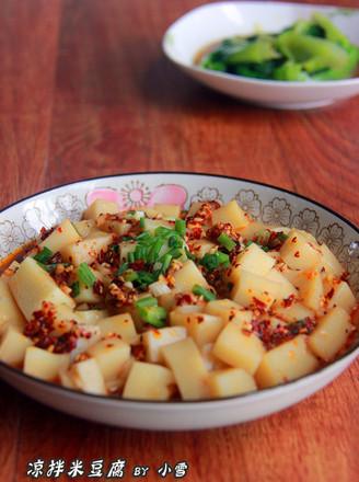 #湖南小吃#凉拌米豆腐的做法