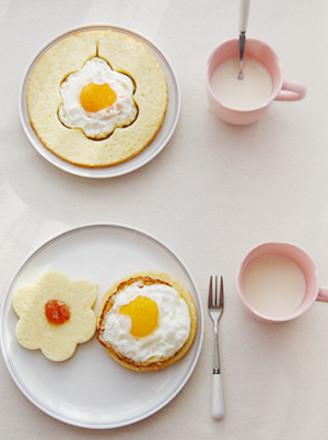 厨房早餐背景素材