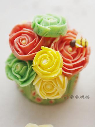 打印玫瑰花纸杯蛋糕的做法(美食杰)
