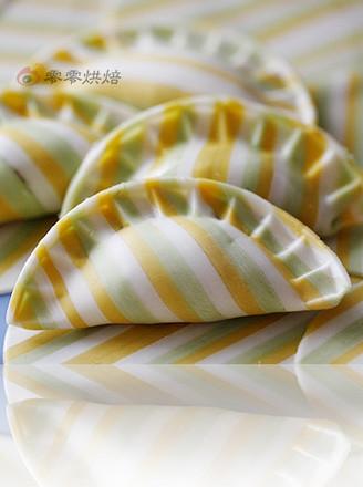 打印三色条纹饺子的做法(美食杰)