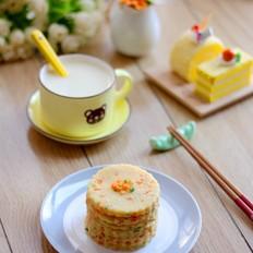 葱香豆浆饼
