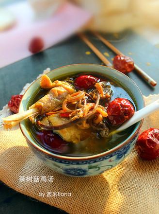 茶树菇草鸡汤