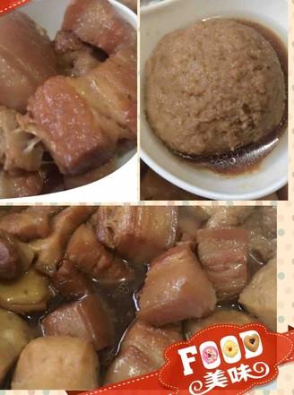 豆腐泡红烧肉的做法