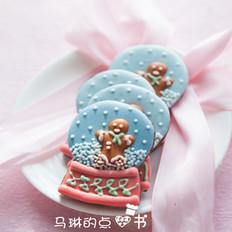 水晶球音乐盒糖霜饼干