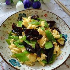 黑木耳荷兰豆炒鸡蛋