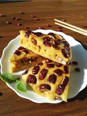 大枣花生玉米面发糕#午餐#的做法
