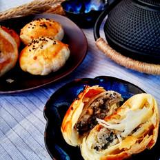 黑芝麻椒盐酥饼
