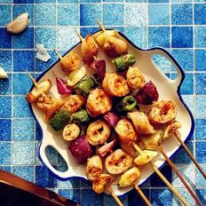 蒜香烤肥肠#午餐#
