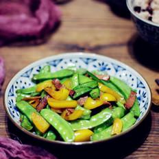 培根炒荷兰豆