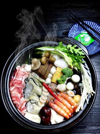 海鲜羊肉火锅的做法
