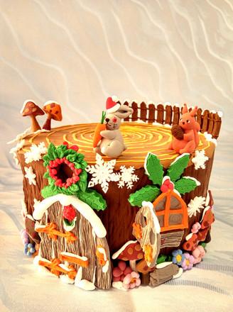 翻糖动物兔子的做法