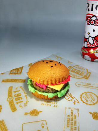 汉堡手工制作图片 纸
