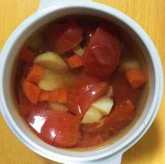 宝宝辅食:蔬菜高汤