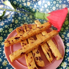 蔓越莓酥条饼干
