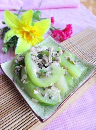 蚬肉炒水瓜的做法