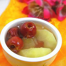苹果山楂汤