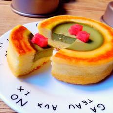 抹茶布蕾蛋糕