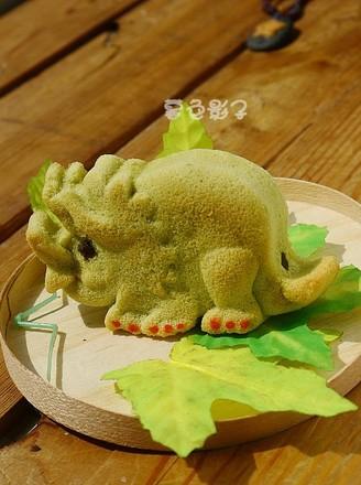 打印油菜汁动物蛋糕的做法(美食杰)