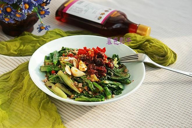 麻辣味拌油麦菜的做法
