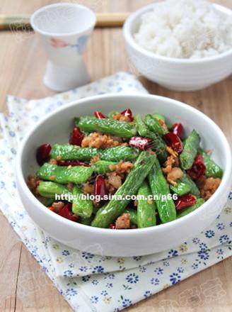 干煸四季豆123的做法