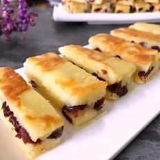 牛奶蔓越莓烤年糕