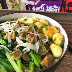 酸菜牛肉粉的做法[图]