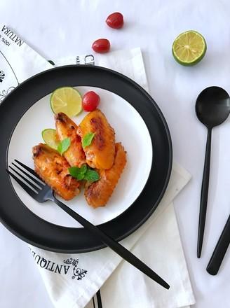 叉烧烤鸡翅#午餐#的做法