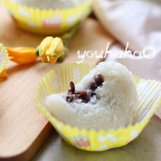 椰蓉豆沙糯米滋