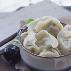 卷心菜香菇饺子