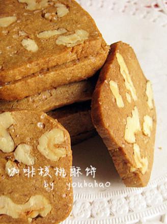 咖啡核桃酥饼