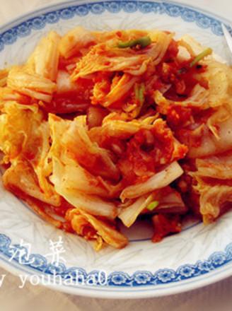 韩式白菜泡菜的做法