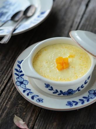 南瓜泥牛奶蒸蛋的做法