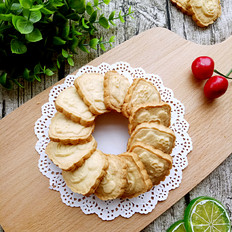 蛋奶黄油饼干