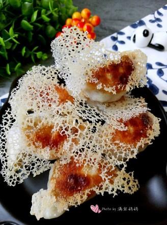 冰花煎饺(香菇猪肉馅)的做法
