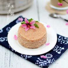 红粳米松糕