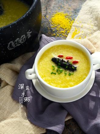 海参小米粥#美的原生态AH煲#的做法