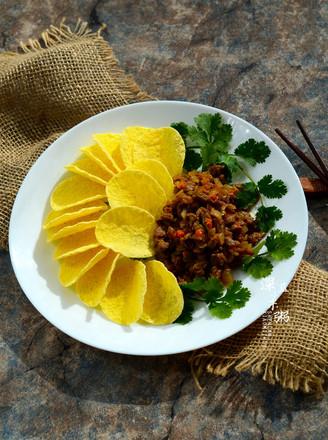 洋芋牛肉粒【沙茶美食】的做法