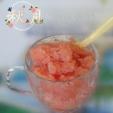 西瓜冰沙的做法[图]