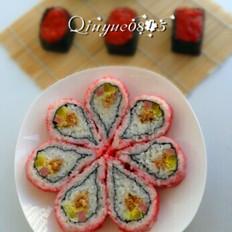 翻转樱花寿司